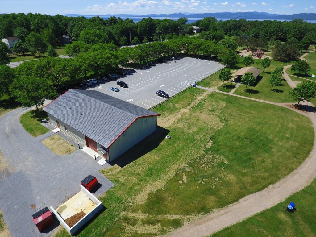 Airport Park Maintenance Building, Colchester, Vermont