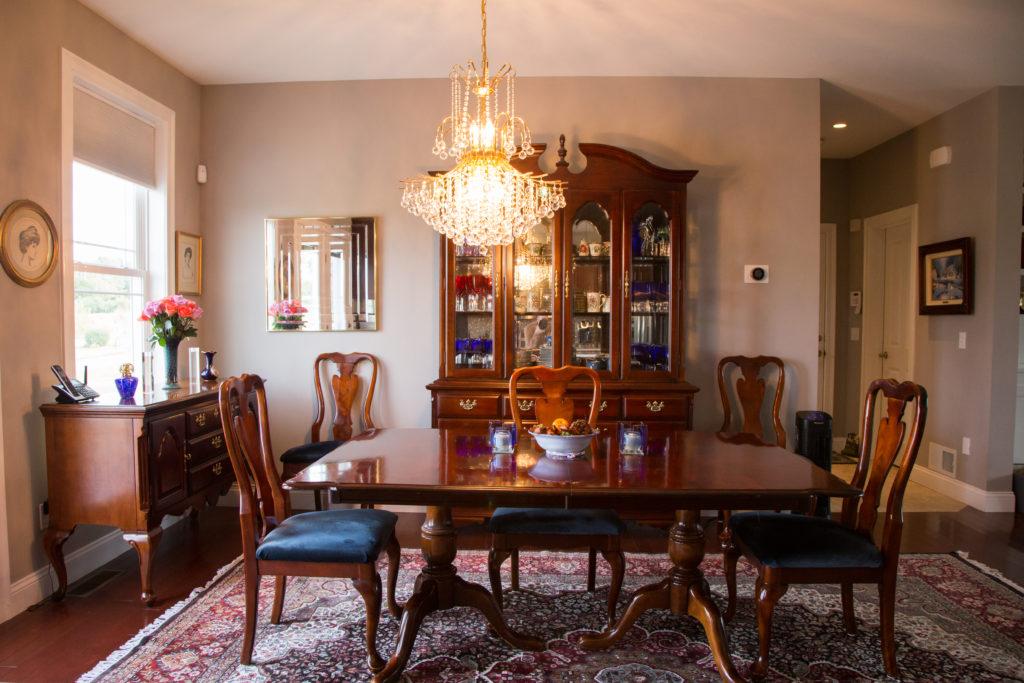 Custom South Burlington Home Dining Room
