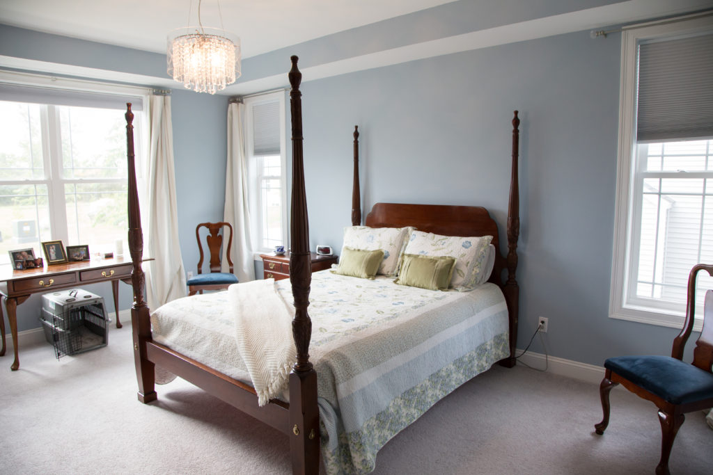 Custom South Burlington Home Bedroom
