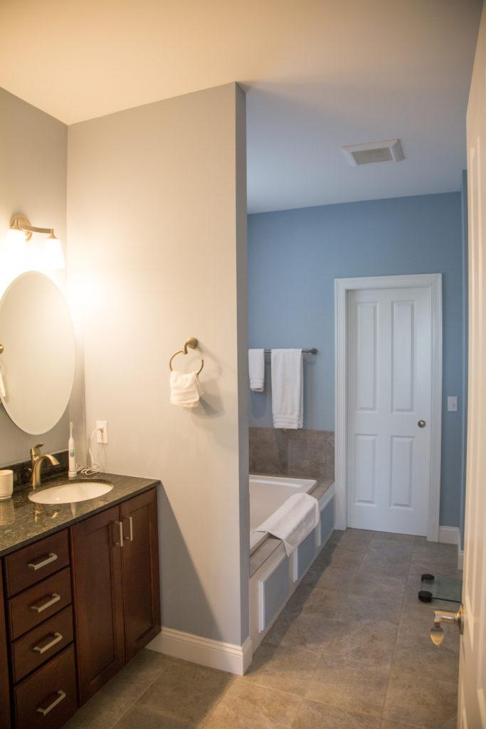 Custom South Burlington Home Bathroom