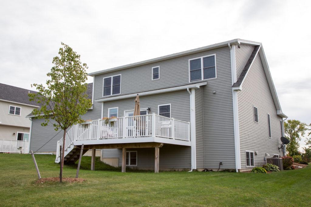 Custom South Burlington Home Exterior